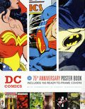 DC Comics 75th Anniversary Poster Book SC (2010 Chronicle Books) 1-1ST