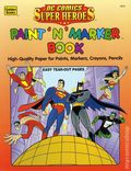 DC Comics Super Heroes Paint 'N' Marker Book SC (1996) 1-1ST