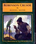 Robinson Crusoe HC (1983 Scribner's Illustrated Novel) 1-REP