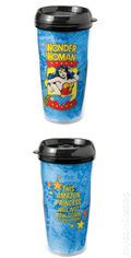 DC Comics 16 oz. Plastic Travel Mug (2010) WW-01