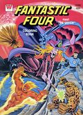 Fantastic Four Coloring Book SC (1970-1980 Whitman) WH-1030