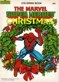 Marvel Super Heroes' Christmas Coloring Book SC (1984) 1-1ST