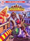 Inhumanoids A Big Coloring Book SC (1986 Golden) #1173