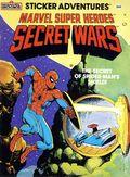 Marvel Super Heroes Secret Wars Sticker Adventures SC (1984 Marvel Books) 1-1ST
