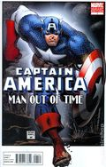 Captain America Man Out of Time (2010 Marvel) 1B