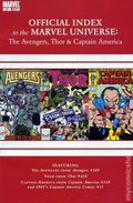 Official Index Marvel Universe Avengers Thor Capt. America 9