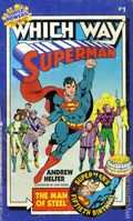 Superman The Man of Steel PB (1983 Which Way Book) 1-REP