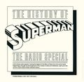History of Superman Radio Special Record Promo (1981) 1981