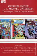Official Index Marvel Universe Avengers Thor Capt. America 11
