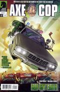 Axe Cop Bad Guy Earth (2011 Dark Horse) 1