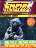 Star Wars Empire Strikes Back Offcial Poster Monthly (1980 P 3