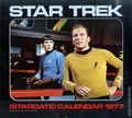 Star Trek Calendar (1975-Present Pocket Books/Andrews McMeel) The Original Series YR-1977