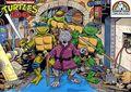 Teenage Mutant Ninja Turtles Jigsaw Puzzle (1987) P-8014
