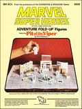Marvel Super Heroes RPG: Adventure Fold-Up Figures - Featuring Pit of the Viper (1984 TSR) Official Game Adventure 6858-1ST