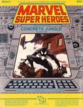 Marvel Super Heroes RPG: Concrete Jungle (1985 TSR) Official Character Roster 6865-1ST