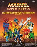 Marvel Super Heroes RPG: The Fantastic Four Compendium SC (1987 TSR) Official Advanced Game Accessory MA4-6889