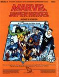 Marvel Super Heroes RPG: Judge's Screen (1984 TSR) A Hero's Guide to New York 6852-1ST
