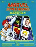 Marvel Super Heroes RPG: Murderworld (1984 TSR) Official Game Adventure 6855-1ST