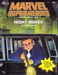 Marvel Super Heroes RPG: Night Moves (1990 TSR) Official Advanced Game Adventure 6895-1ST