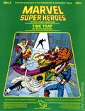 Marvel Super Heroes RPG: Time Trap (1984 TSR) Official Game Adventure 6853-1ST