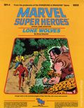 Marvel Super Heroes RPG: Lone Wolves (1984 TSR) Official Game Adventure 6859-1ST
