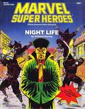 Marvel Super Heroes RPG: Night Life (1990 TSR) Official Advanced Game Adventure 6897-1ST