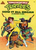 Teenage Mutant Ninja Turtles An Adventure to Color SC (1988 Random House) 1-1ST
