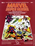 Marvel Super Heroes RPG: The Breeder Bombs (1984 TSR) Official Game Adventure 6851-1ST