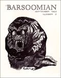 Barsoomian (1952) Fanzine 2R