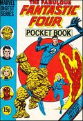 Fantastic Four Pocket Book (UK Series 1980-1982 Marvel UK) 1