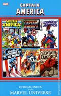 Captain America Official Index to the Marvel Universe TPB (2011) 1-1ST