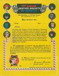 Junior Justice Society of America Certificate (1945) 1945