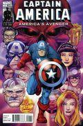 Captain America Americas Avenger (2011 Marvel) 1