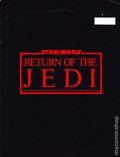 Star Wars Return of the Jedi Program Booklet 1983