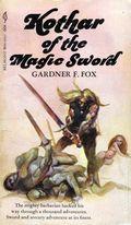 Kothar of the Magic Sword PB (1969 Novel) 1-1ST