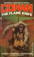Conan The Flame Knife PB (1981 Ace Books) 1-1ST