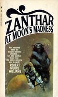 Zanthar at Moon's Madness PB (1968 Novel) 1-1ST