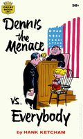 Dennis the Menace vs. Everybody PB (1964 Crest Books) 1-1ST