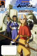 Avatar The Last Airbender Star Wars Clone Wars (2011) FCBD 0