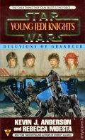 Star Wars Young Jedi Knights Delusions of Grandeur PB (1997 Boulevard Novel) 1-1ST