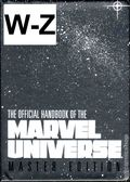 Official Handbook of the Marvel Universe (1994 Marvel) Master Edition SET-W-Z