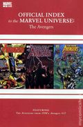 Official Index Marvel Universe Avengers Thor Capt. America 15