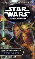 Star Wars The New Jedi Order Edge of Victory PB (2001 Del Rey Novel) 2-1ST