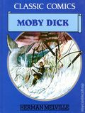 Classic Comics Moby Dick HC (1990 Gallery Books) Herman Melville 1-1ST