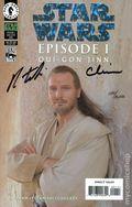 Star Wars Episode 1 Qui-Gon Jinn (1999) 1B.DF.HOLO.SIGNED