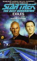 Star Trek The Next Generation Exiles PB (1990 Pocket Novel) 1-REP