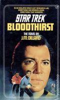 Star Trek Bloodthirst PB (1987 Pocket Novel) 37-1ST