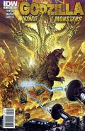 Godzilla Kingdom of Monsters (2011 IDW) 5B