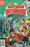 Batman and the Outsiders (1983) Mark Jewelers 2MJ