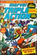 Marvel Triple Action (1972) National Diamond 9NDS